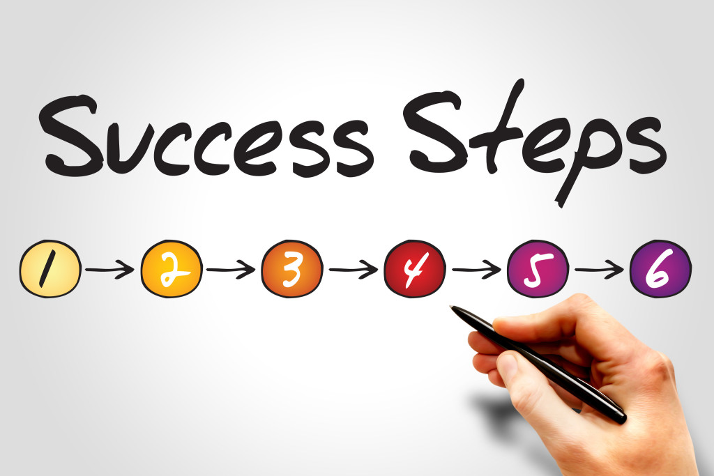 6 Steps for Success in Life